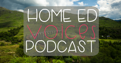Home Ed Voices Podcast – (Season 2) Episode 14 – Mell (@Raisingadaisy)