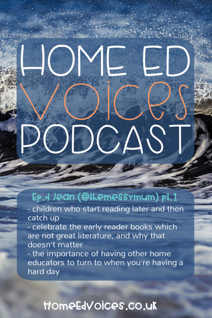 Home Ed Voices Podcast - Ep.4 Jean (@themessymum)
