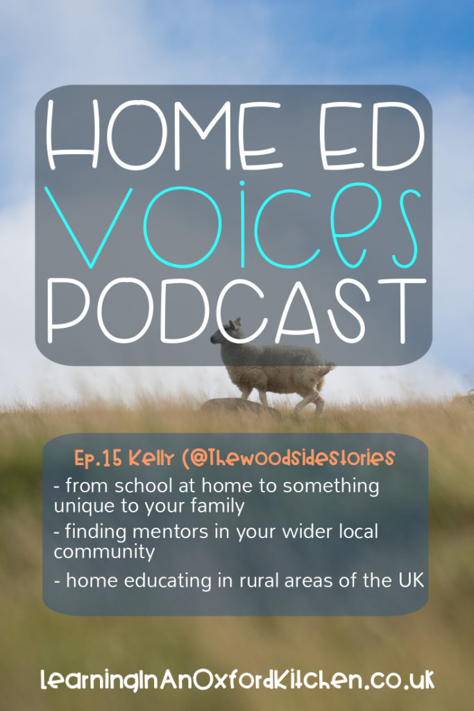 home Ed Voices Podcast - ep 15 Kelly (@thewoodsidestories)