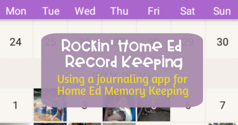 Rockin' Home Ed Record Keeping