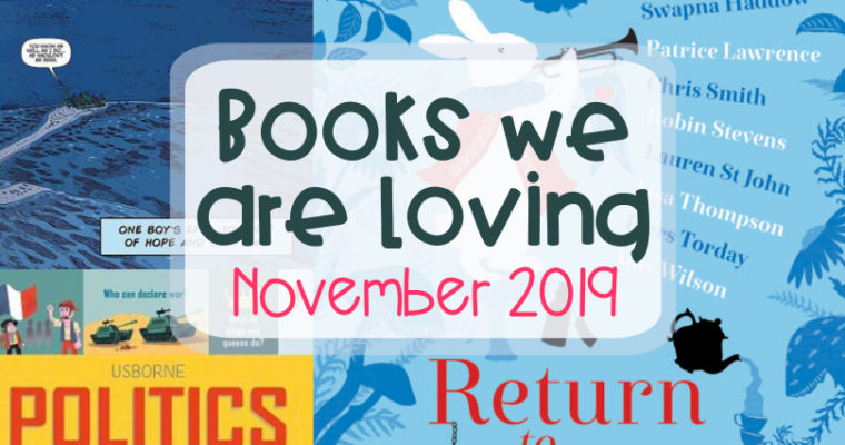 Books We are Loving – November 2019
