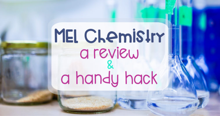 MEL Chemistry – a review and a handy hack