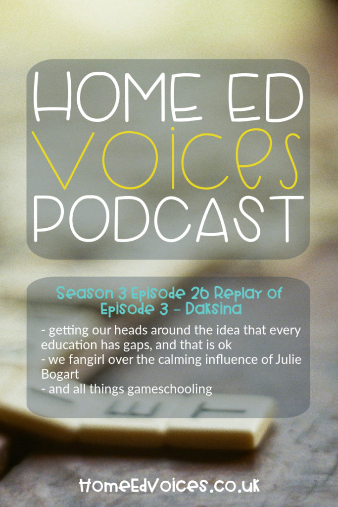 Home Ed Voices Podcast – Season 3 Episode 26 - Replay of Episode 3 Daksina (@daksinabasia)