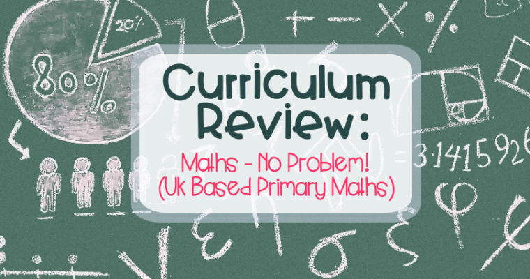 Curriculum Review: Maths – No Problem!