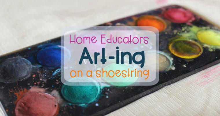 Art-ing on a shoestring