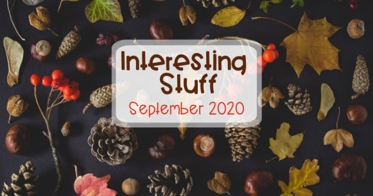 Interesting Stuff September 2020