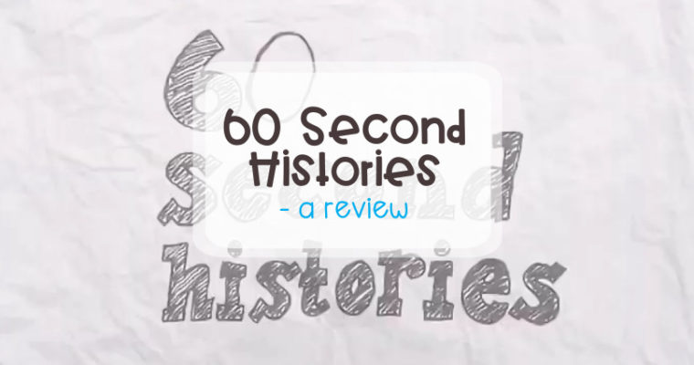 60 Second Histories – a review