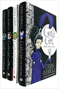 Goth Girl series by Chris Riddell