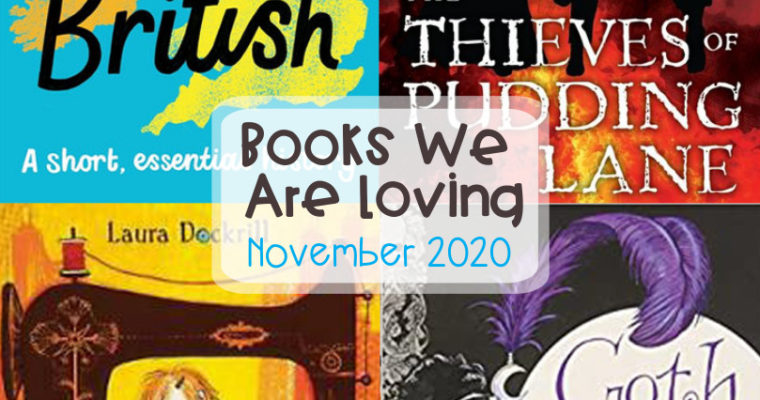 Books we are loving November 2020