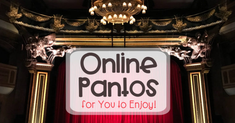Online Pantos for You to Enjoy!