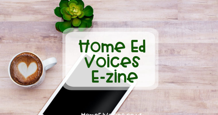 New! Home Ed Voices E-zine
