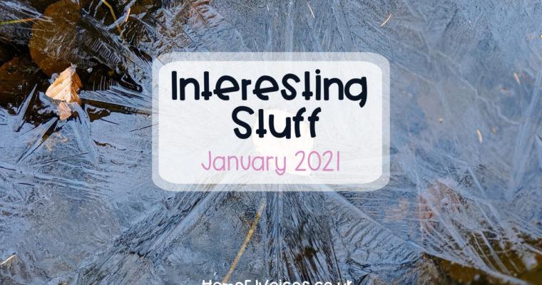 Interesting Stuff – January 2021