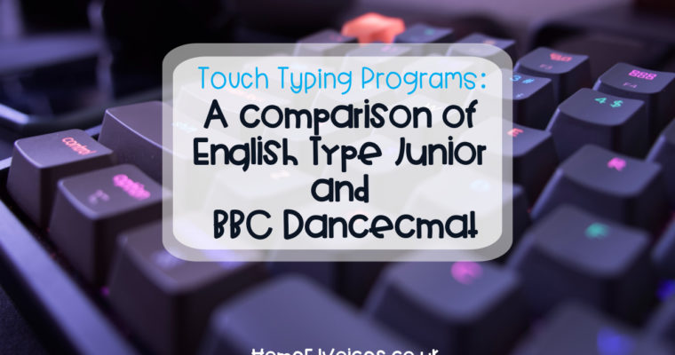 Touch Typing Programs: A comparison of English Type Junior and BBC Dancecmat