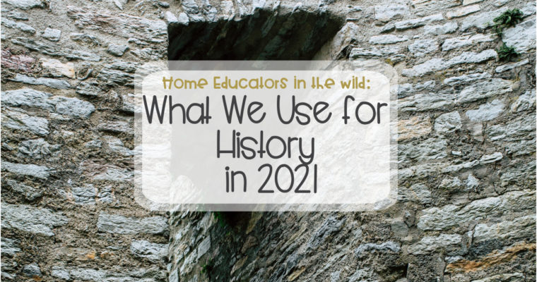 What we're using in 2021: History