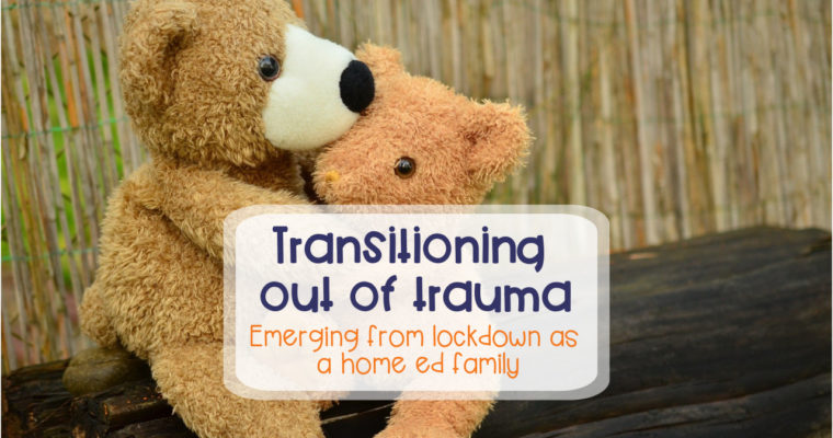 Transitioning out of trauma